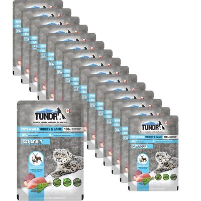 Sparpack! Tundra Cat Pouchpack Pute & Wild | 16 x 85g