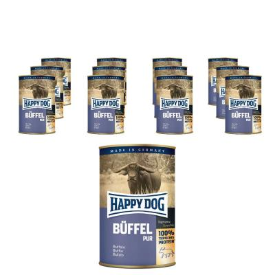 Sparpack! Happy Dog Büffel pur | 12 x 400g