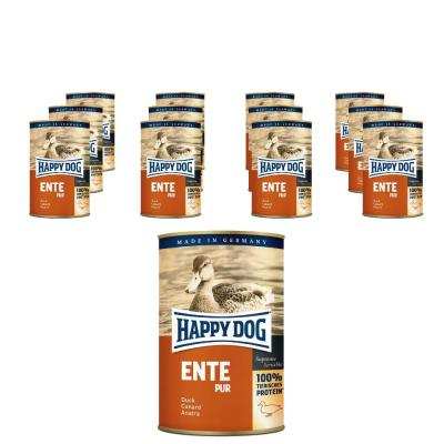 Sparpack! Happy Dog Ente pur | 12 x 400g