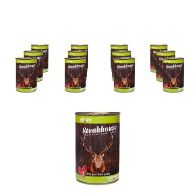 Steakhouse Wild pur | 12 x 400g