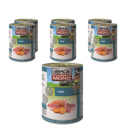 Sparpack! MAC's Dog Mono Sensitive Lamm | 6 x 400g