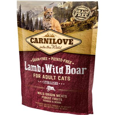 Carnilove Cat Adult Lamb & Wild Boar Sterilised | 400g