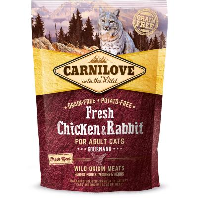 Carnilove Cat Adult Fresh Chicken & Rabbit Gourmand | 400g