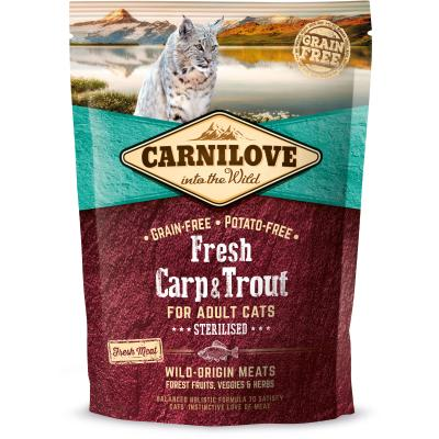 Carnilove Cat Adult Fresh Carp & Trout Sterilised | 400g