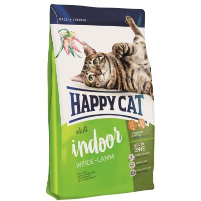 Happy Cat Indoor Adult Weide-Lamm | Auslaufartikel! 1,4kg
