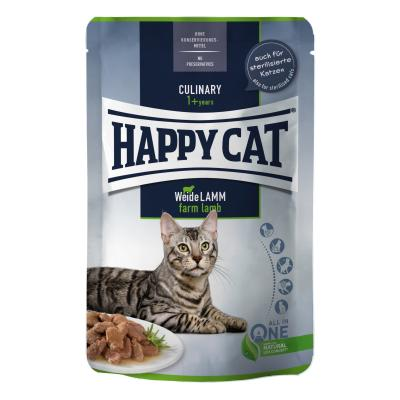 Happy Cat Culinary Meat in Sauce Weide Lamm Pouch | 85 g
