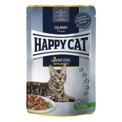 Happy Cat Culinary Meat in Sauce Land Geflügel Pouch | 85 g