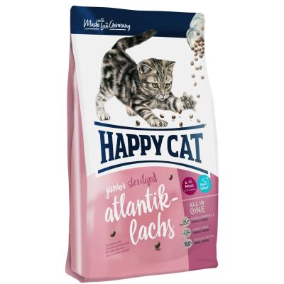 Happy Cat Supreme Junior Sterilised Atlantik-Lachs | Auslaufartikel! 1,4 kg