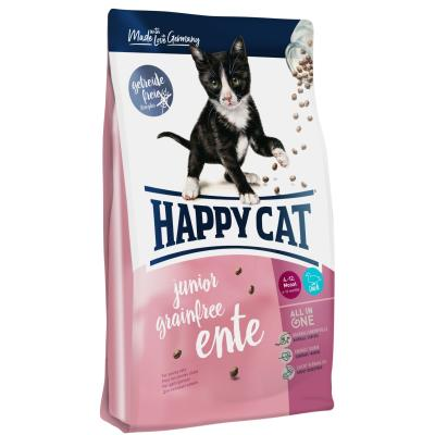 Happy Cat Supreme Junior Grainfree Ente | 1,4 kg