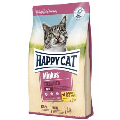 Happy Cat Minkas Sterilised Geflügel | 1,5 kg