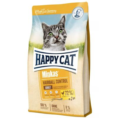Happy Cat Minkas Hairball Control Geflügel | 4 kg