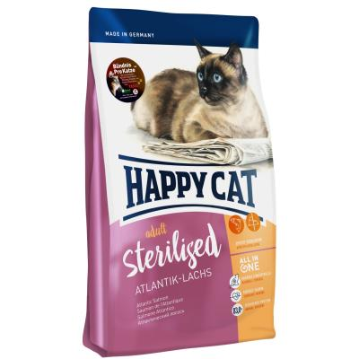 Happy Cat Supreme Sterilised Atlantik-Lachs | 4 kg