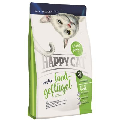 Happy Cat Sensitive Land-Geflügel | Auslaufartikel! 1,4kg