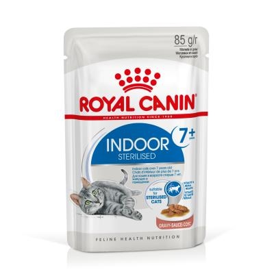ROYAL CANIN INDOOR 7+ Sterilised in Soße | 85 g
