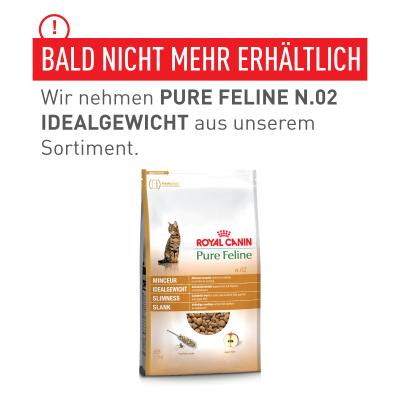 Royal Canin Pure Feline n.02 Idealgewicht | 300 g