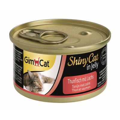 GimCat ShinyCat in Jelly Thunfisch & Lachs | 70g