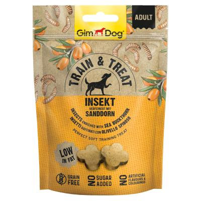 GimDog Train & Treat mit Insekt und Sanddorn | 125 g