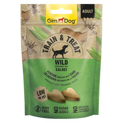 GimDog Train & Treat mit Wild und Salbei | 125 g