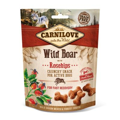 Carnilove Dog Crunchy Snack Wild Boar with Rosehips | 200g