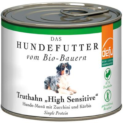 Defu Biofutter High Sensitive getreidefrei Truthahn | 200g