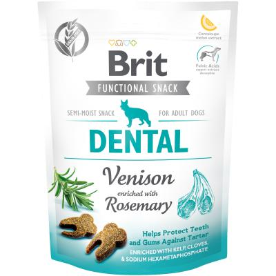 Brit Care Dog Functional Snack Dental Venison - Hirsch + Rosmarin 150 g