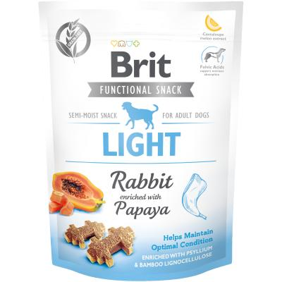 Brit Care Dog Functional Snack Light Rabbit - Hase + Papaya 150 g