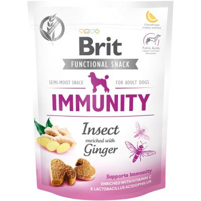 Brit Care Dog Functional Snack Immunity Insect - Insekten + Ingwer 150 g