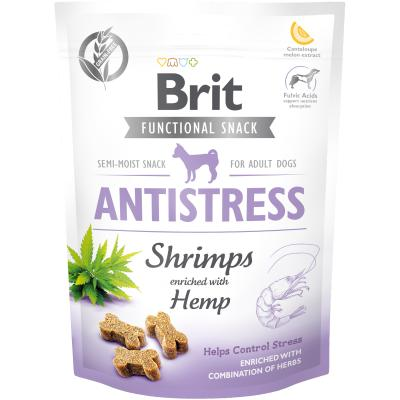 Brit Care Dog Functional Snack Antistress Shrimps - Shrimps + Hanf 150 g