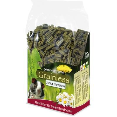 JR Grainless Complete Junior Meerschweinchen 1000g