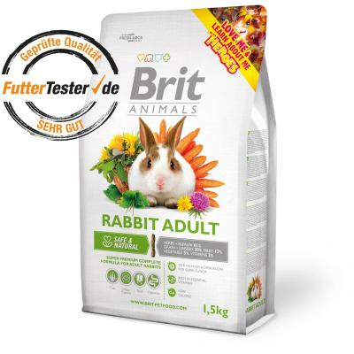 Brit Animals RABBIT ADULT Complete 0,3 kg