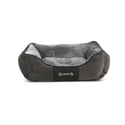 Scruffs Chester Box Bed Graphite | M