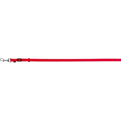 Trixie Classic Leine, XS–S: 1,20–1,80 m/15 mm, rot