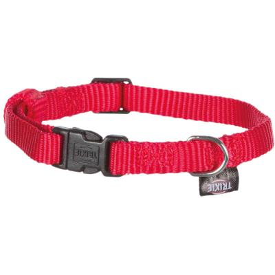 Trixie Classic Halsband, XS–S: 22–35 cm/10 mm, rot