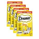 Sparpack! Dreamies Mega Packs | mit Käse 180g 3+1 Gratis