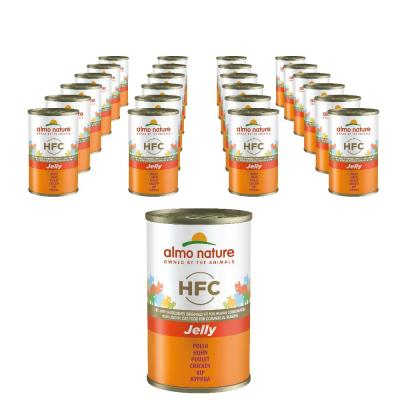 Sparpack! HFC Jelly Huhn | 24 x 140 g