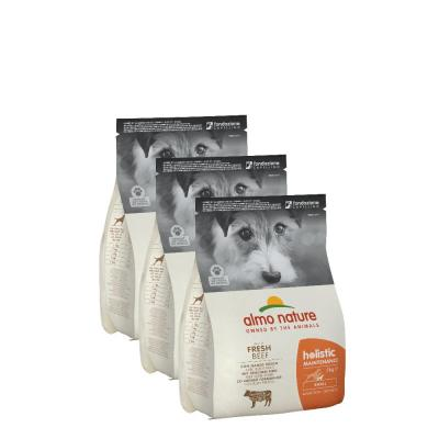Sparpack! PFC Holistic Small Rind und Reis | 3 x 2 kg