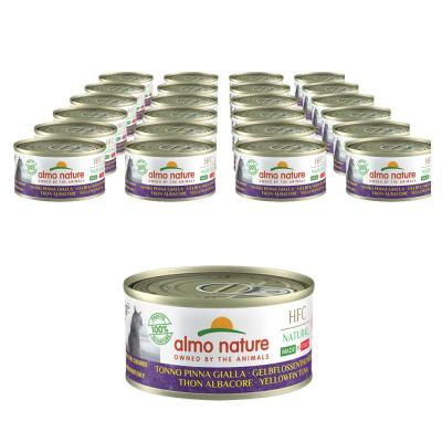 Sparpack! almo nature HFC Cat Gelbflossenthunfisch | 24 x 70 g