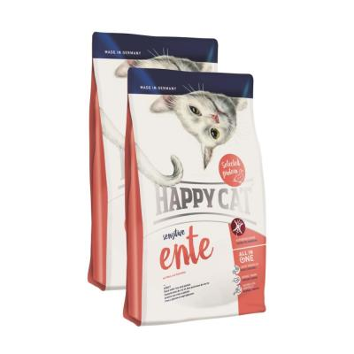 Sparpack! Happy Cat Sensitive Ente | 2 x 4kg
