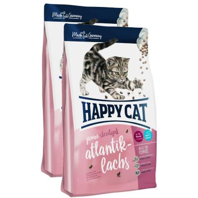 Sparpack! Happy Cat Supreme Junior Sterilised Atlantik-Lachs | 2 x 10 kg