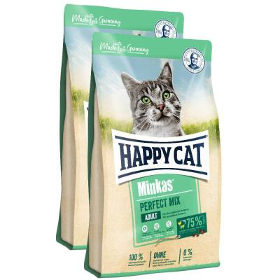 Sparpack! Happy Cat Minkas Perfect Mix Geflügel, Fisch & Lamm | 2 x 10kg