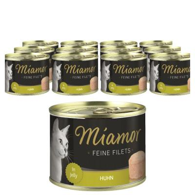 Sparpack! Miamor Feine Filets Huhn in Jelly | 12 x 185g