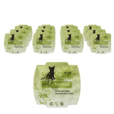 Sparpack! Catz Finefood Mousse No. 205 Huhn & R...