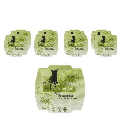 Sparpack! Catz Finefood Mousse No.205 Huhn & Ri...