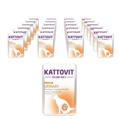Sparpack! Kattovit Feline Diets Urinary Huhn Pouch | 24 x 85g