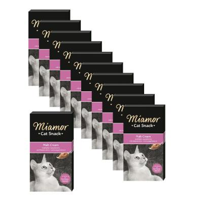 Sparpack! 10 + 1 gratis! Miamor Cat Snack | Malt Cream 11 x 90g