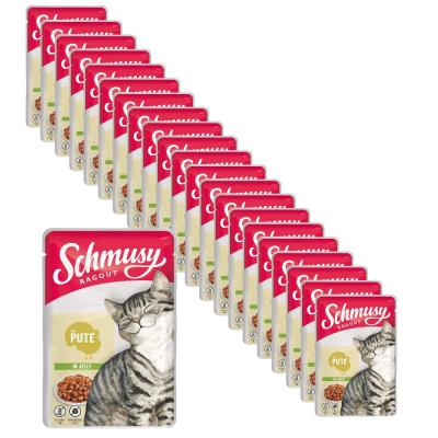 Sparpack! Schmusy Ragout mit Pute in Jelly | 22 x 100g