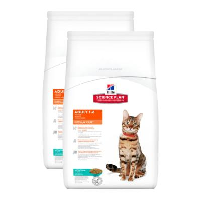 Sparpack! Hill´s Feline Adult Thunfisch 2 x 10kg