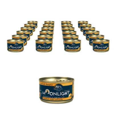 Sparpack! Moonlight-Dinner Nr.4  Thunf.,Huhn+Lachs 24 x 80g