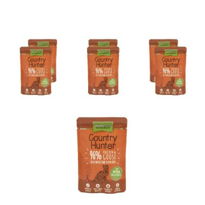 Megapack! Natures Menu Country Hunter 96% Huhn & Gans | 6 x 85g