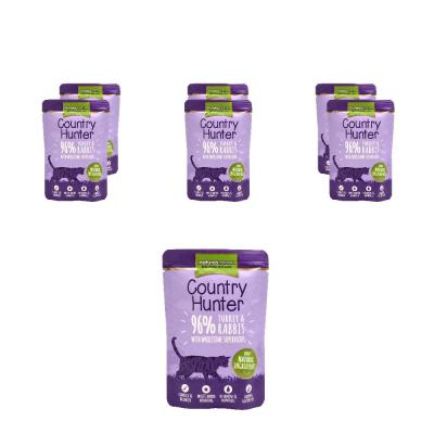 Megapack! Natures Menu Country Hunter 96% Pute & Kaninchen | 6 x 85g